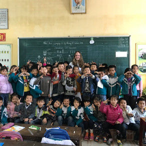 A Volunteer's Challenges Overcome by the Smiles of Her Students