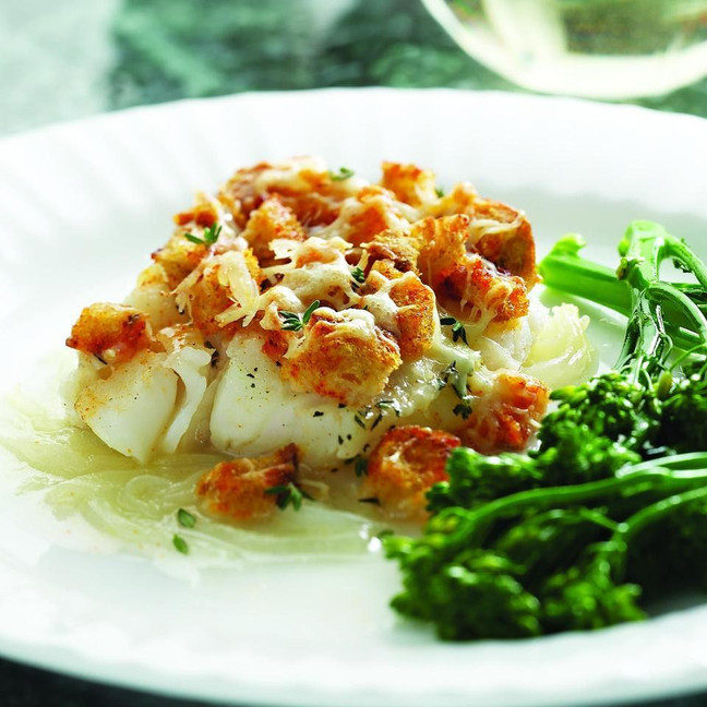 MonthlyHealthy Recipe for Fall: Baked Cod Casserole