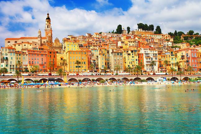 Beach Travel Getaway: The French Riviera
