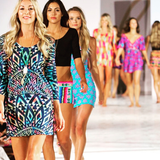 Asher Marie Collection Presented at LA Swim Week in July