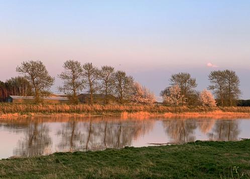 Dusk on the River Nene