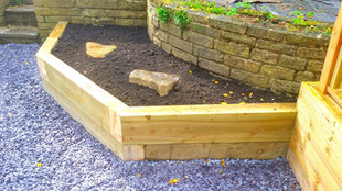 Raised beds, Planters and Railway Sleepers
