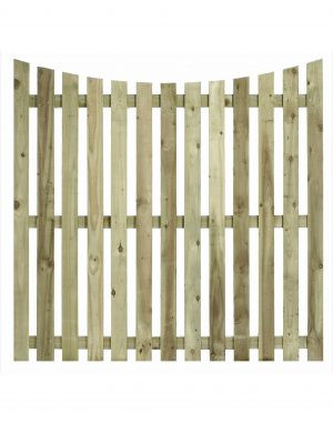 Convex Top Paling Fence Panel