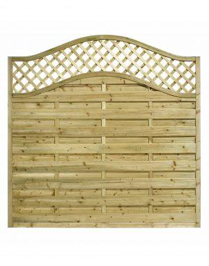 KDM - Omega Fence Panel with Trellis