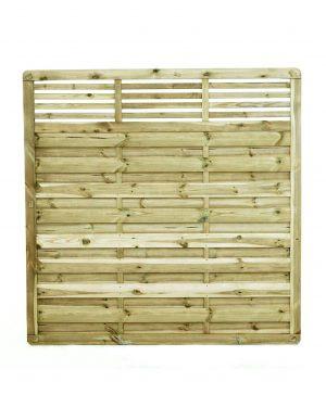 KDM - Elite Slatted Fence Panel