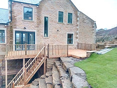 Raised Decking and Stairs