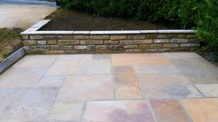Walling and Paving