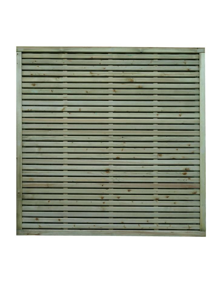 KDM - Slatted Fence Panel
