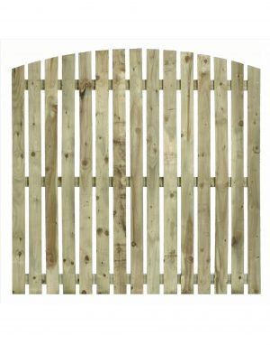 Arched Top Paling Fence Panel