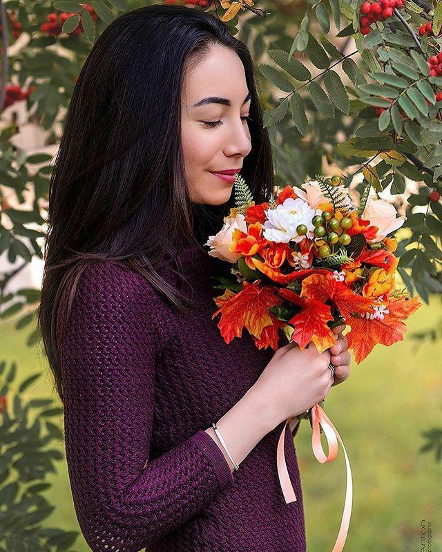 Осенний букет для фотосессий