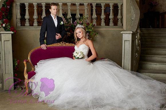 """Букет невесты """"Снежно-белый"""""""