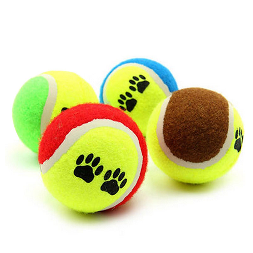 6.5cm Dog Tennis Ball puppy Pet Toys for Dog Chewing Toy Signature Kids Toy Ball