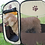 Thumbnail: Dog Tent Portable Folding Pet tent Dog House Cage Dog Playpen Puppy Kennel Easy
