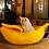 Thumbnail: Petshy Pet Cat House Dog Bed Banana Shape Dog House Cute Pet Kennel Nest Warm