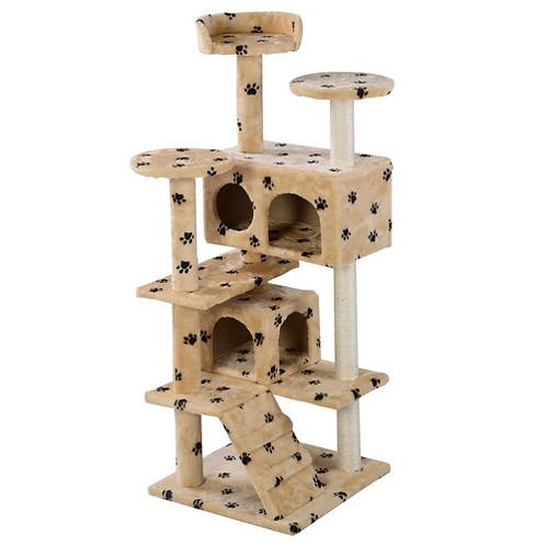 (Ship From US) New Pet Cat Tree Tower Condo Furniture Scratch Post Pet Kitten