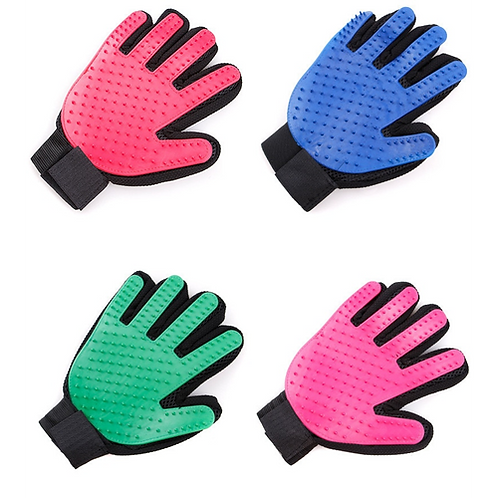 Silicone Dog Glove Accessories Soft Use Pet Gloves Grooming Bath