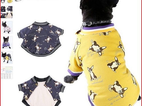 Two Feet Winter Dog Clothes XS-XXL Size