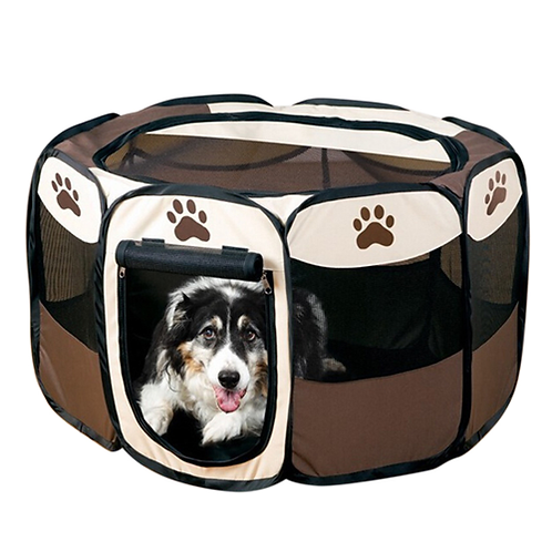 Playpen for Dogs Pet Supplies Dog Cage Pet Carrier Fence Kennel Comfy Puppy Hous