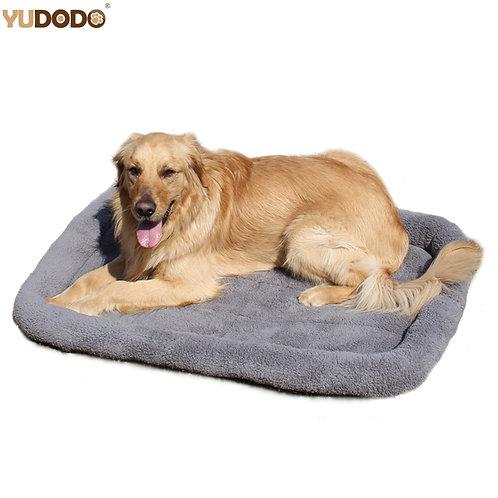 Large Dog Beds Gray Warm Soft Blanket For Small Medium Pet Cat Sleeping Mat Matt