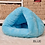 Thumbnail: 7 Colors Winter Thicken Cat Beds Soft Polar Fleece Small Dogs House Pet Puppy