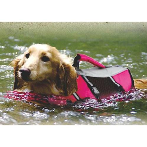 Dog Life Jacket Vests Dog Puppy Summer Safety Clothes Swimming Preserver Swimwea