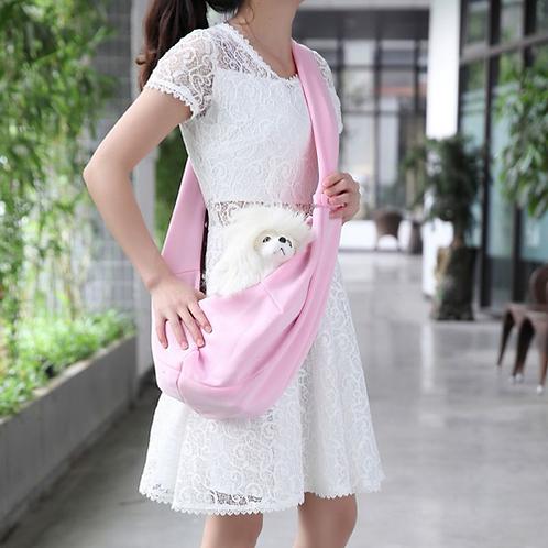 Pet Dog Polyester Blue Pink Outdoor Convenience Carry Messenger bag Pet supplies