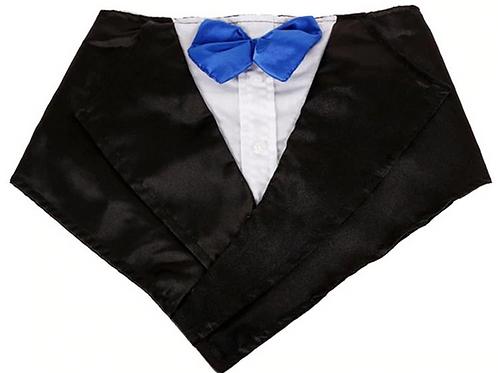 1Pc Saliva Towel Tuxedo Formal Adjustable Bowtie Tuxedo