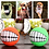 Thumbnail: Funny Pets Dog Puppy Cat Ball Teeth Toy PVC Chew Sound Dogs Play Fetching
