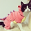 Thumbnail: Funny Pet Clothes Dog Plush Outfit Dinosaur Costume with Hood for Small Dogs