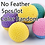 Thumbnail: 5Pcs/Lot Pet Toys Latex Ball Cat Toy Foam Ball Feahter Kitten Playing Cats Ball