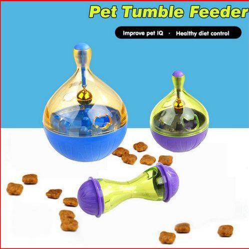 Pet Tumbler Toys Intelligent Automatic Food Leakage Device Cat Dog Bite Toy Dog