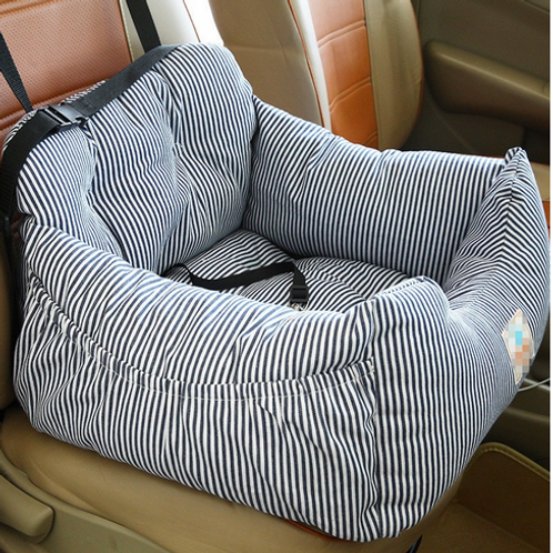 Pet Dog Carrier Car Seat Pad With Safety Belt Cat Puppy Bag Safe Carry House Dog
