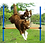 Thumbnail: HSWLL Pet Supplies Dog Jumping rod Single Training Jumper Dog Outdoor Sports