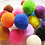 Thumbnail: Ganyue 10 Piece/lot Soft Cat Toy Balls Kitten Toys Candy color Assorted Ball