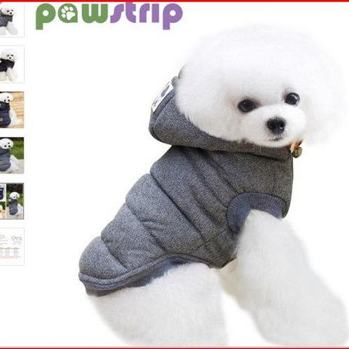 Winter Dog Clothes Soft Cotton Fleece Dog Coat