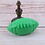 Thumbnail: Pet Dog Ball Toy Natural Non-toxic Rubber Football Style Dog Toy Cat Training