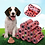 Thumbnail: 10Rolls/Pack Pet Dog Waste Poop Bags With Printing Degradable Puppy Pets Waste