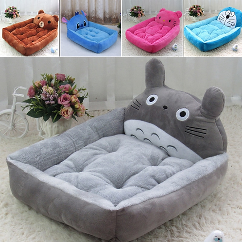 New 6 Choices PP Cotton Dog Bed Animal Cartoon Shaped Pet Dog House Sofa Puppy