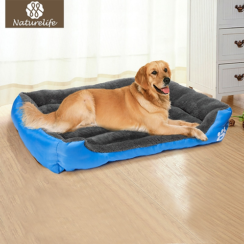 Pet Dog Bed Warming Dog House Soft Material Nest Dog Baskets Fall and Winter