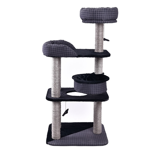 Fast Delivery Luxury Cat Toy House For Cat Pet Cat Climbing Frame Multi-layer