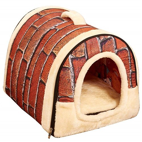 2 in 1 Indoor Dog House Bed and Dog Sofa for Cat Pet Cage Kennel Nest Playpen