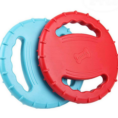 Dog toy TPR water float frisbee