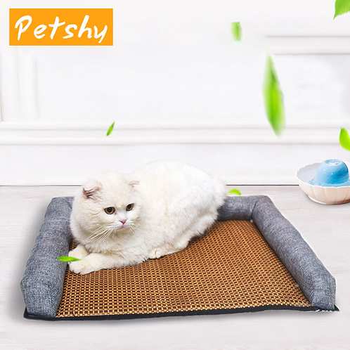 Petshy New Cozy Pet Cat Puppy Summer Bed House Mat Small Medium Large Dog Sleep