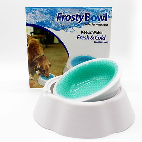 Quick Cooling Dog Bowl Pet Frosty Bowls Puppy Cat Ice Feeding Container Fresh