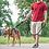 Thumbnail: Reflective Large Dog Leash Nylon Rope Pet Running Tracking Leashes Long Lead Dog