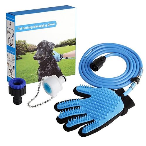 Pet  messaging Glove Pet Shower Sprayer Wash Tool Outdoor Gar