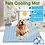 Thumbnail: Hoomall Summer Cooling Mats Blanket Ice Pet Dog Bed Sofa Portable Tour Camping