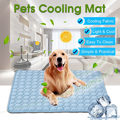 Hoomall Summer Cooling Mats Blanket Ice Pet Dog Bed Sofa Portable Tour Camping
