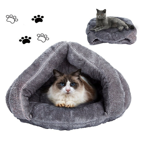 7 Colors Winter Thicken Cat Beds Soft Polar Fleece Small Dogs House Pet Puppy