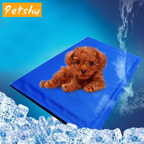 Petshy Thin Summer Pet Mat Dog Cat Puppy Portable Waterproof Travel Home Sofa